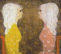 du côté de charmante et méchante (contente - mécontente) by zoltan kemeny