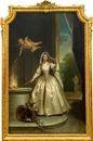 allegorisches porträt einer dame des versailler hofes als vestalin by jean raoux