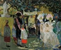 wedding ceremony by pierre lelong