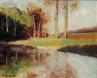 edge of the pond by william chadwick
