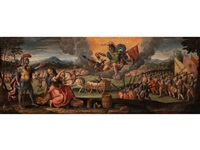 allegorie des krieges by paolo fiammingo dei franceschi