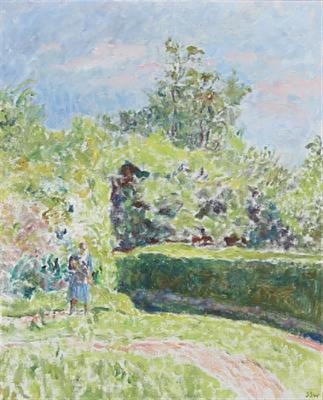 garden landscape by sigurd swane