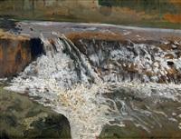 cascada de azuda en el guadaíra by nicolás (jiménez caballero navarro) alpériz