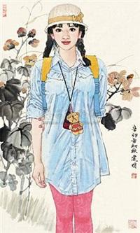 芙蓉少女 by sang jianguo