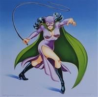 cat woman 1 by mel ramos