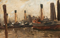 tug boats by karl rodeck