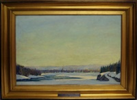 view of gatineau ottawa by harold rupert leofric george alexander