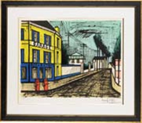 ガレージ by bernard buffet