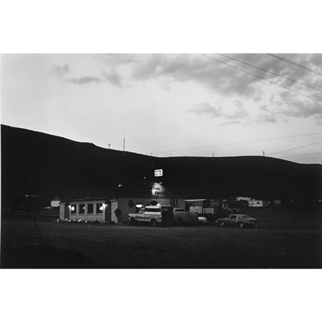mustang bridge exit interstate 80 from nevada series by lewis baltz