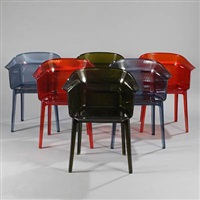 papyrus chairs (set of 6) by ronan bouroullec