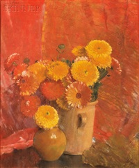 calendulas by laura coombs hills