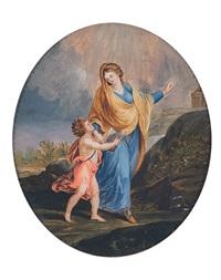 allegoria dell'educazione by fedele fischetti