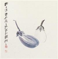 eggplant by zhang daqian