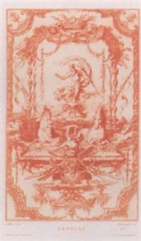 ornements, vases et décorations d'après les maîtres by auguste pequegnot