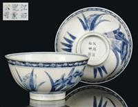 bowls (pair) by jiangxi ciye gongsi