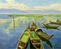 滇池一景 by bai shi