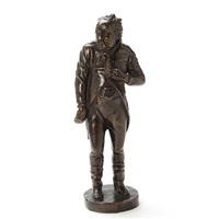 figurine depicting olaf poulsen by georg jensen