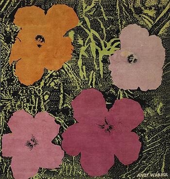 Poppies Rug By Andy Warhol On Artnet