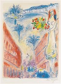 avenue de la victoire à nice by marc chagall
