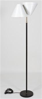 valaisipaja a810 floor lamp by alvar aalto