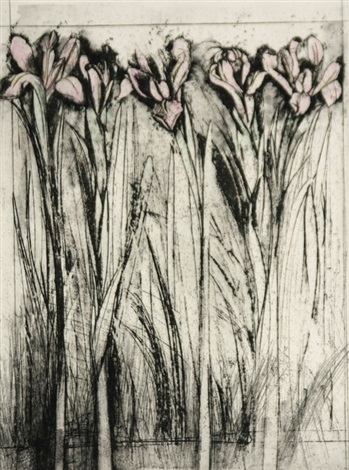 a temple of flora iris by jim dine
