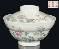 ogee bowl and cover by jiangxi ciye gongsi