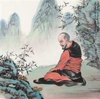 红衣罗汉 by xiao ping