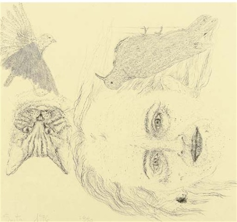 ginzer and the birds by kiki smith