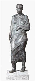 de wandeling (staande vrouw) by myriam eykens