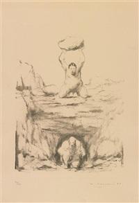 uomini grotta by wainer vaccari