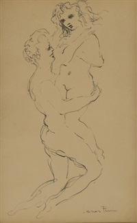 lovers by leonor fini