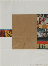 plot (from reality and paradoxes) by robert rauschenberg
