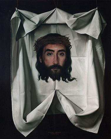 santo sudario by claudio bravo