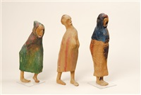 trois personnages (3 works) by francisco leiro