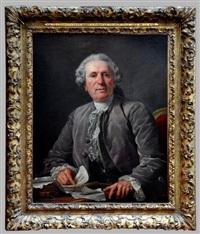 portrait dit du chansonnier charles-françois panard by jean françois gilles colson
