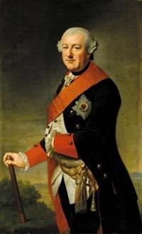 portrait of duke carl i of brunswick-wolfenbüttel by johann georg ziesenis