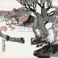 山居图 by liang shimin