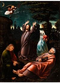 christus am ölberg by bernhard strigel