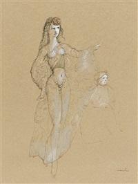 danseuse de harem by leonor fini
