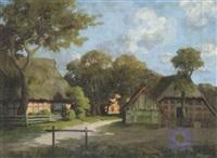 worpsweder bauernhöfe by emy rogge
