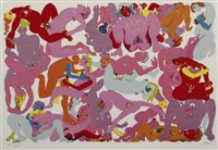 orgy 4 by walter whall battiss