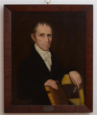 portrait of david r arnell md by ammi phillips