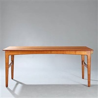 dining table with extension and two extra leaves by harbo solvsteen