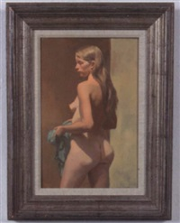 female nude by st. julian fishburne