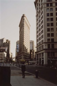 the flatiron building, new york by beaumont newhall