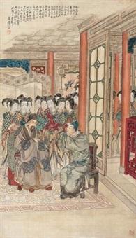 李靖上谒图 (character) by xu yan