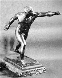 young nude athlete by oskar gladenbeck