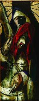 figura con mantello by alfio rapisardi
