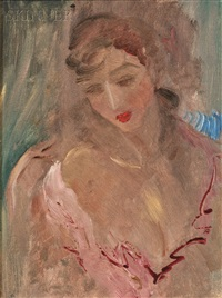 portrait of marion moore by e.e. cummings