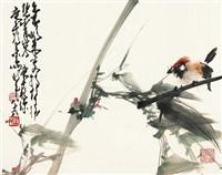 竹林鸣翠 by zhao shaoang